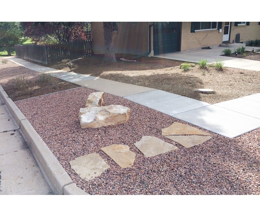 Colorado springs utilities xeriscaping low maintenance reno for Low maintenance low water landscaping